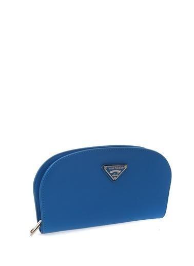 Pascal Classıc&Polo Clutch / El Çantası Mavi